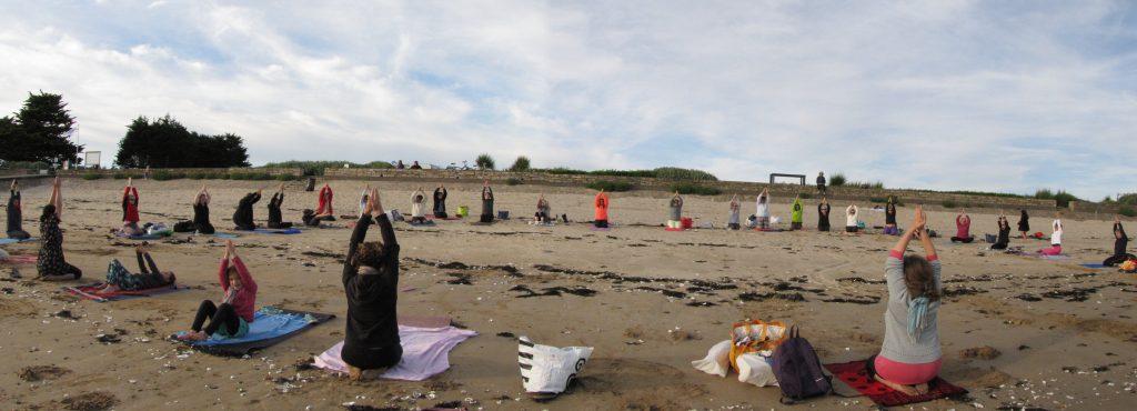 Yoga en extérieur Péaule Billiers Muzillac