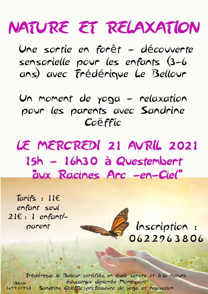 Nature et relaxation parents enfants